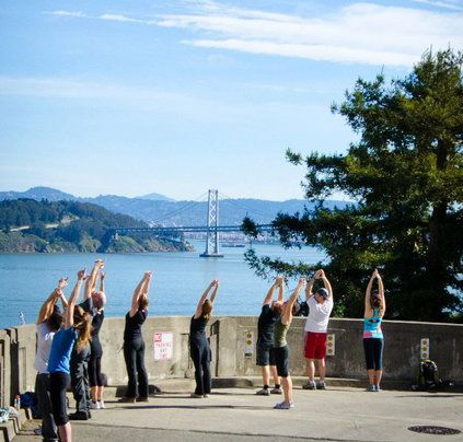 Hiking Yoga has an expansion advantage. Without brick-and-mortar locations, it can set up shop without dealing