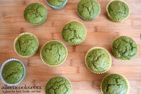 Kid Friendly Spinach Muffins #spinachmuffins