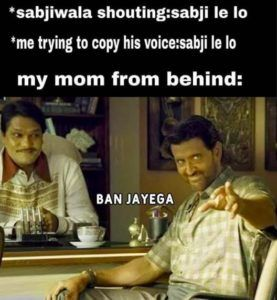 Copying A Sabjiwala's Voice