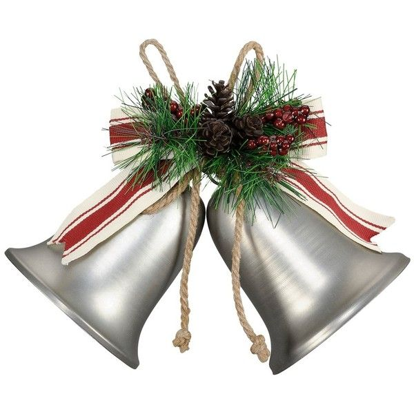 christmas bells wall decor by ashland liked on polyvore featuring home home decor holiday decorations christmas christmas holiday decor holiday home