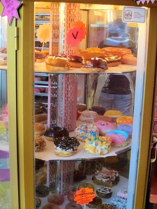 Voodoo Doughnut in Portland, Oregon. Supposed to be some of the best donuts on earth!