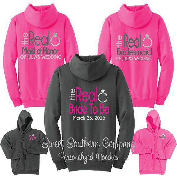 10 Personalized Bride and Bridesmaids The by SweetSouthernCompany