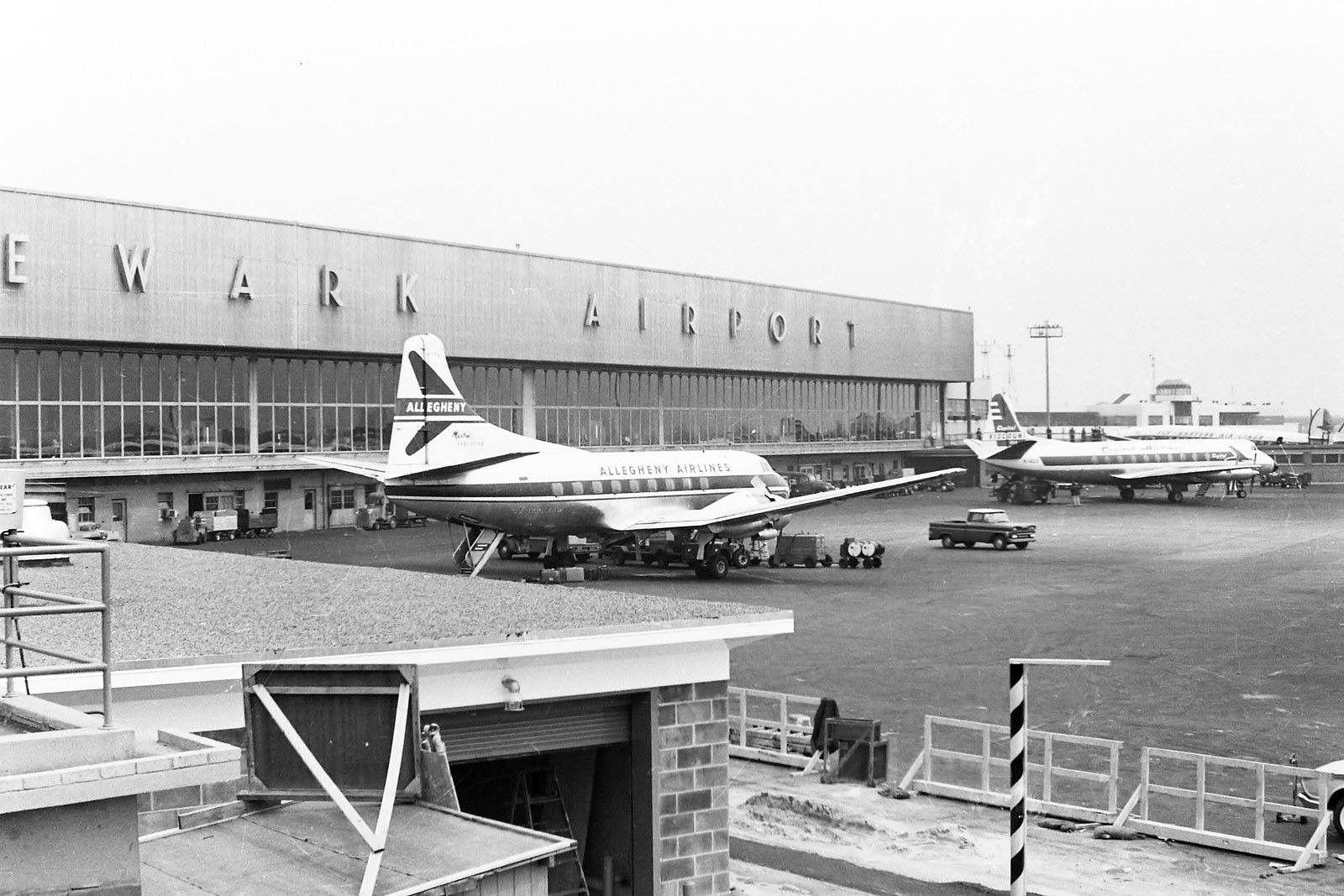 Newark Airport New Jersey Garden State Plaza Vintage