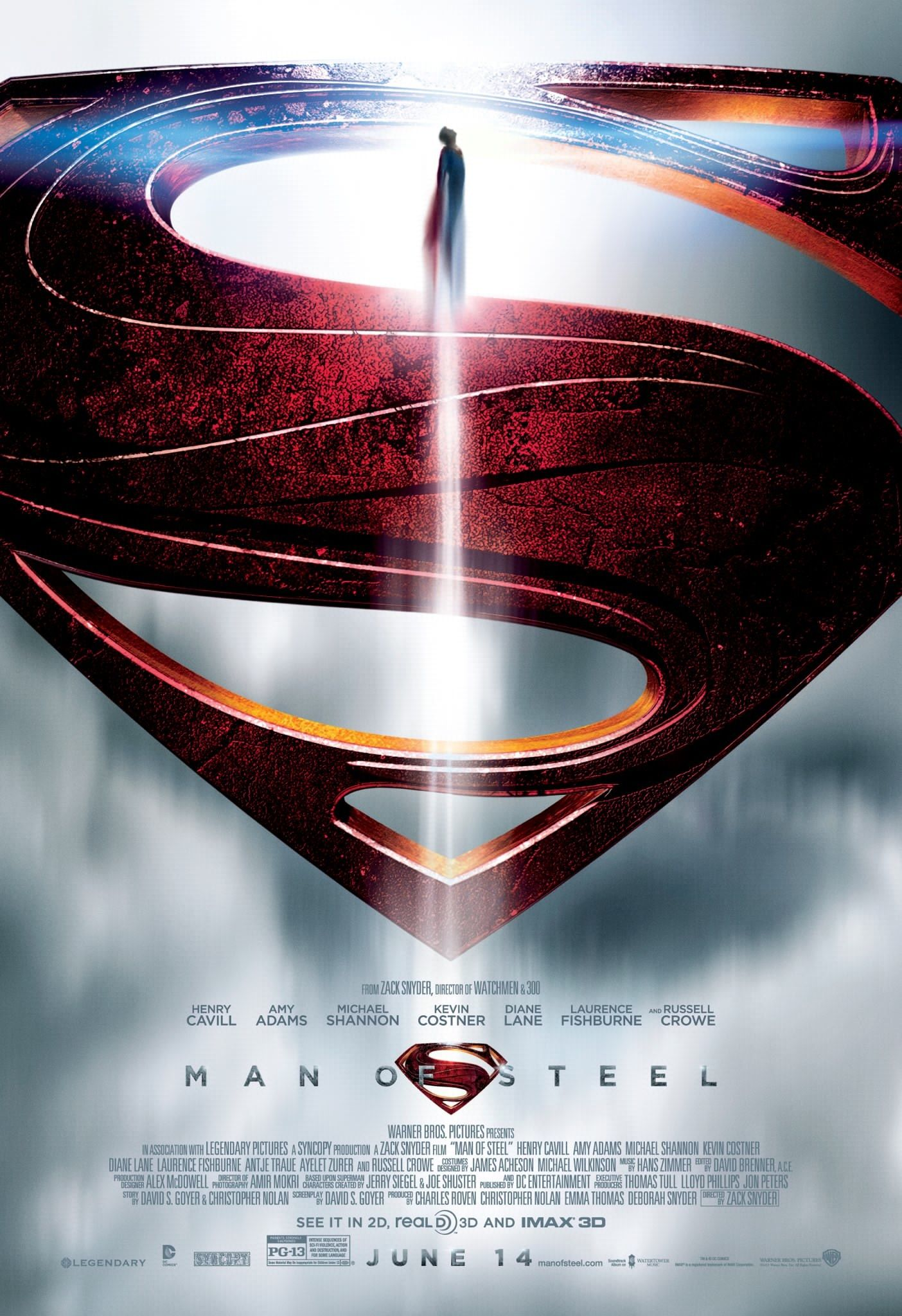 Man Of Steel All Movie Posters