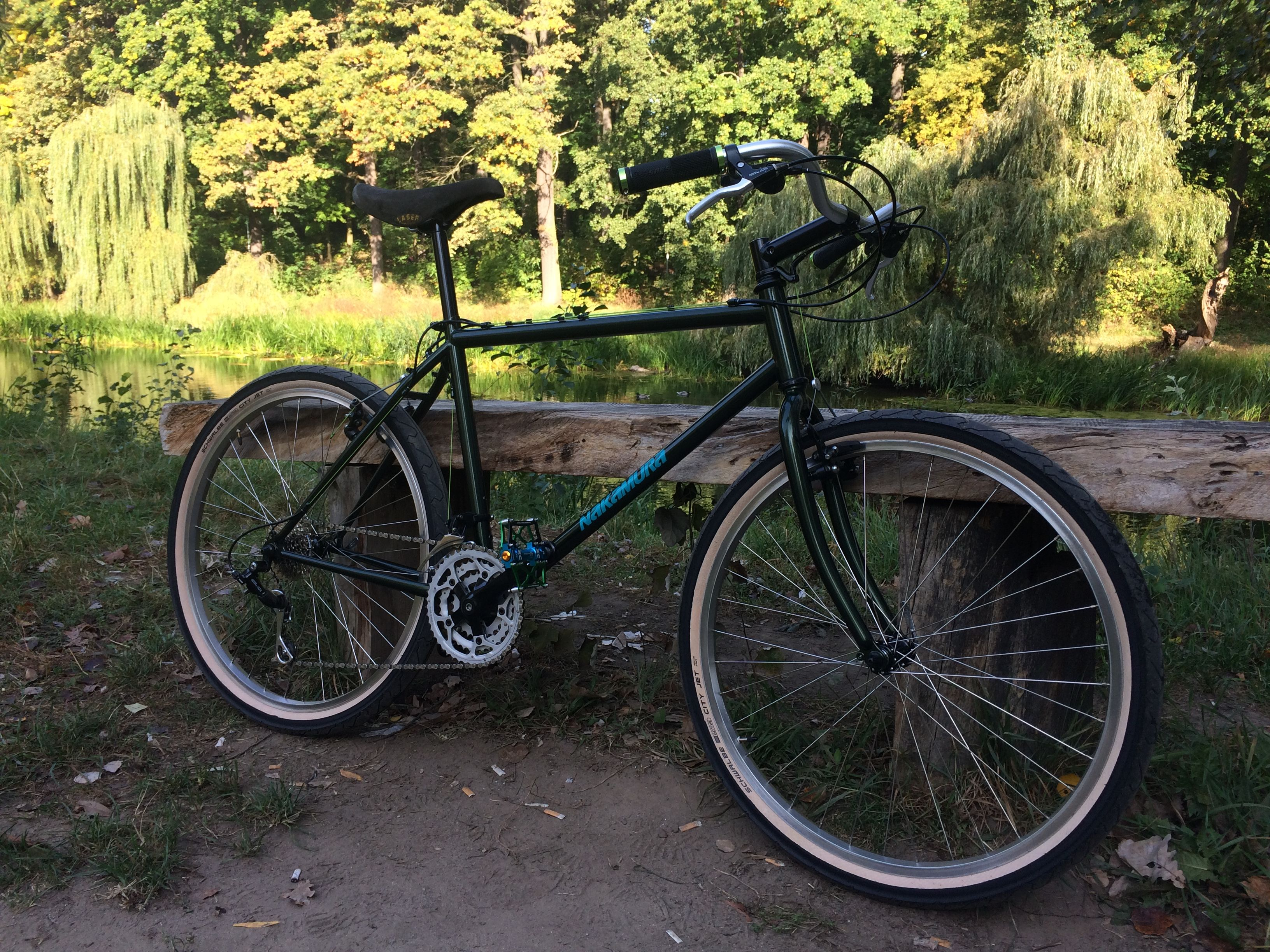 Nakamura Zenith 1995 Bicycle Retro Vehicles