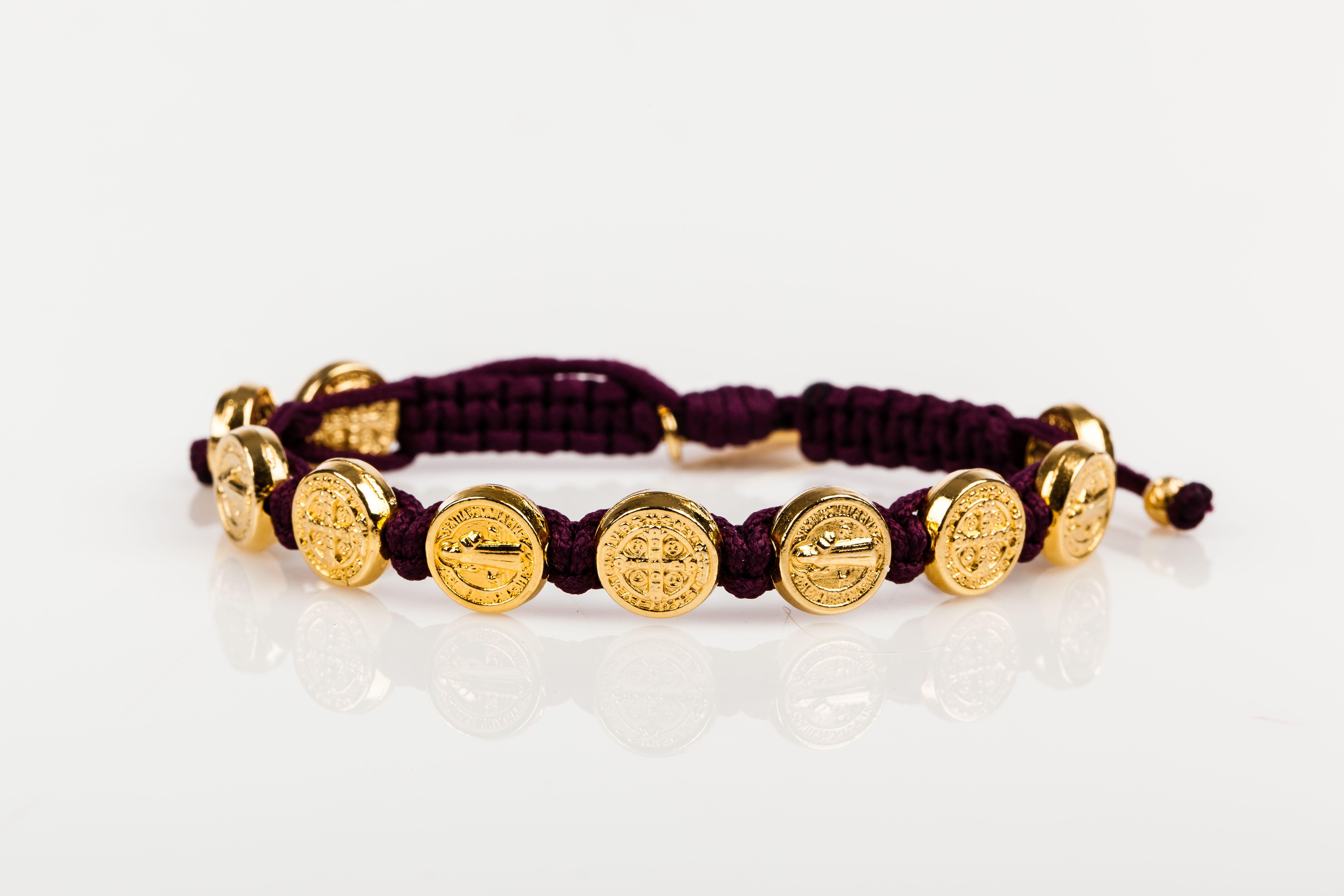 Benedictine blessing bracelet u gold medals bracelets bracelets