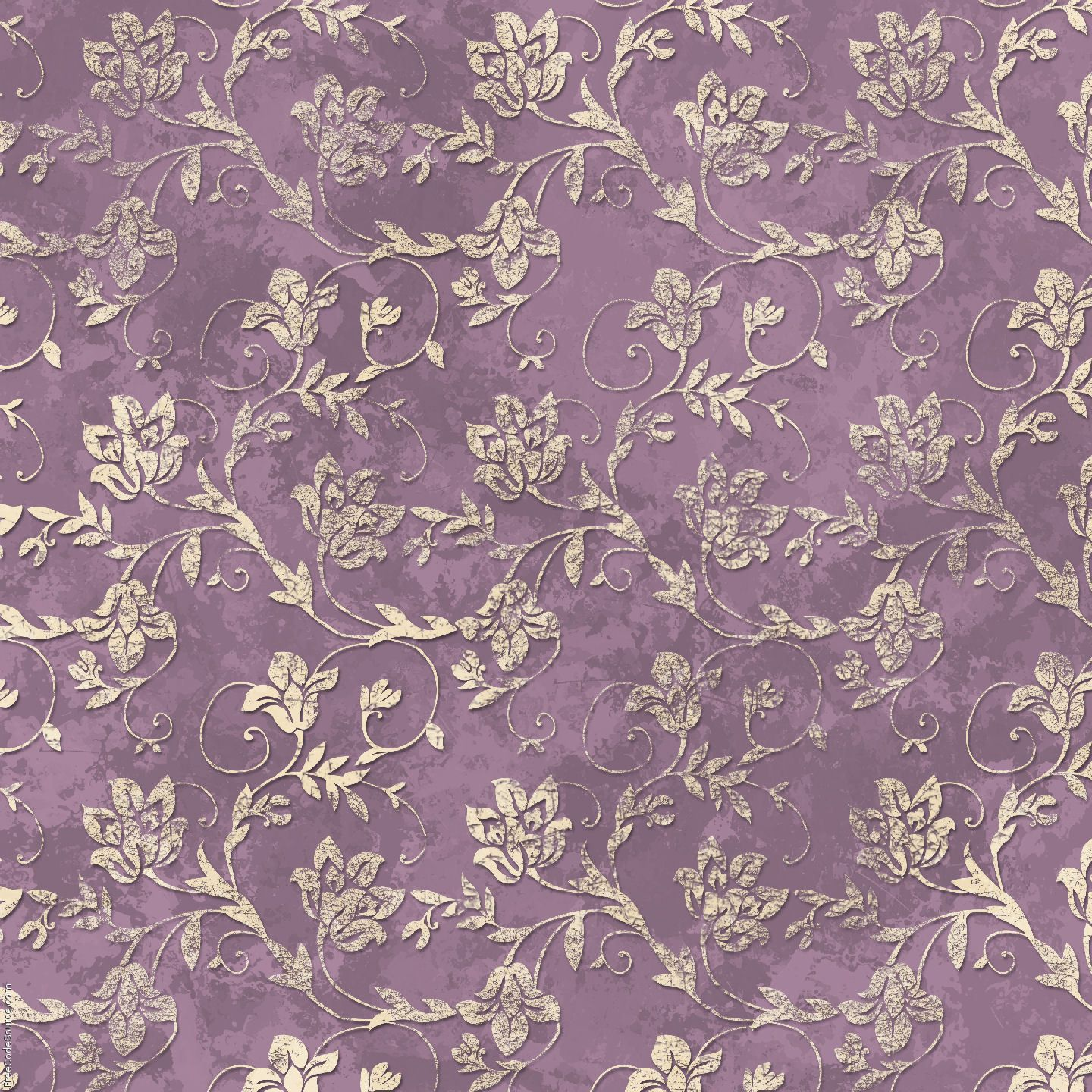 Purple And Green Vintage Background