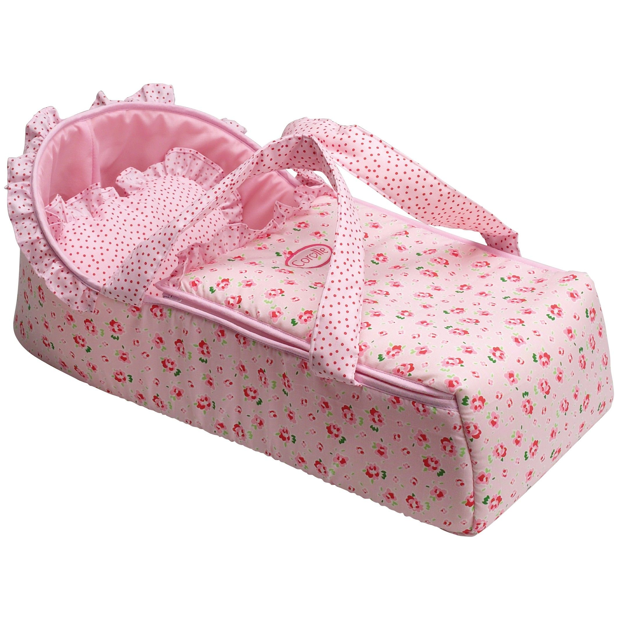 Pink Baby Doll Carry Bed Corolle W1500 | * N&L Gift Ideas ...