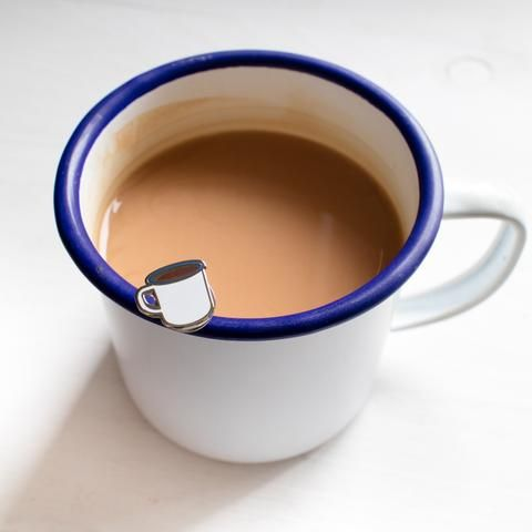 Enamel Mug Pin