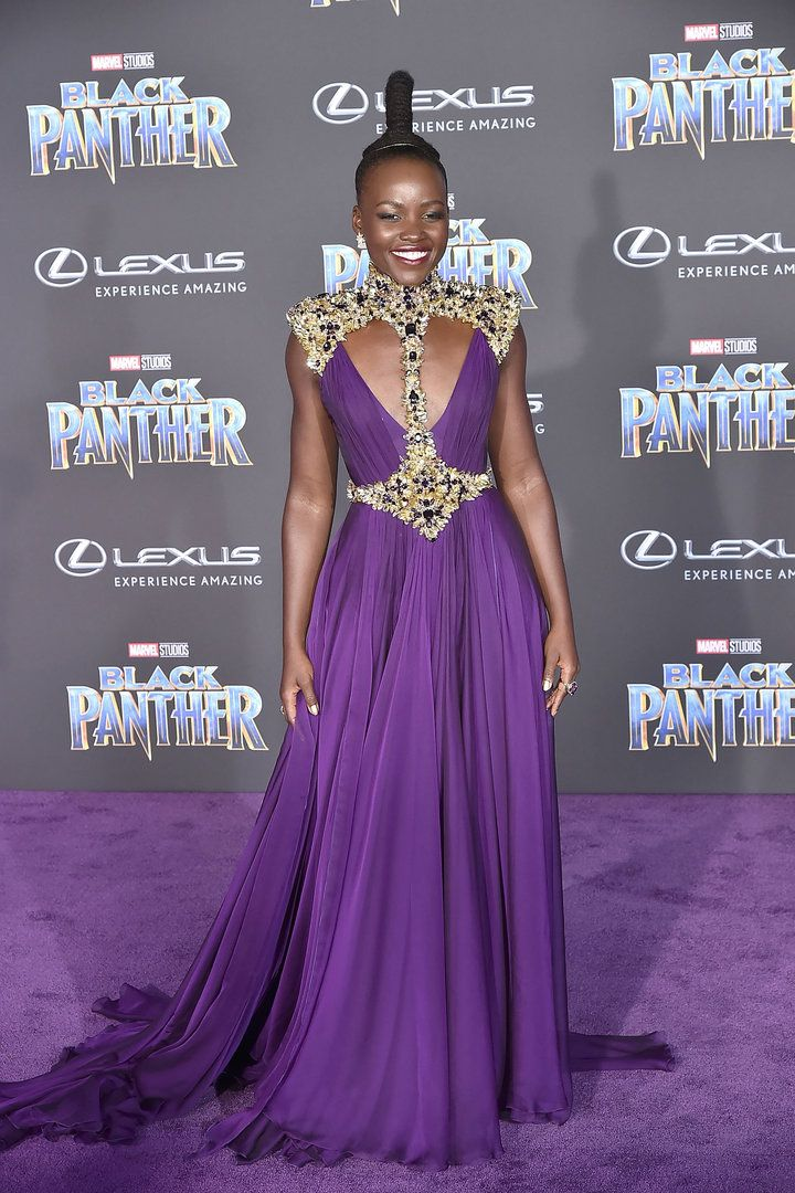 'Black Panther' Premiere Gloriously Celebrates African Royalty   HuffPost