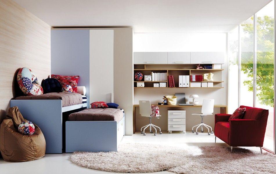 Composición 110---------------- #dormitorio para #jóvenes y #niños ...