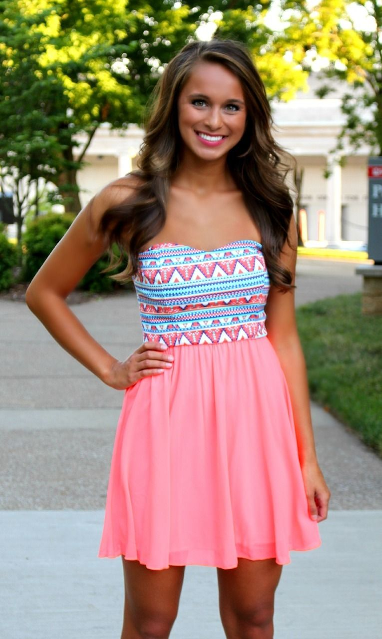 The Pink Lily Boutique - Aztec Mini Dress/ Coming Soon! , $38.00 ...