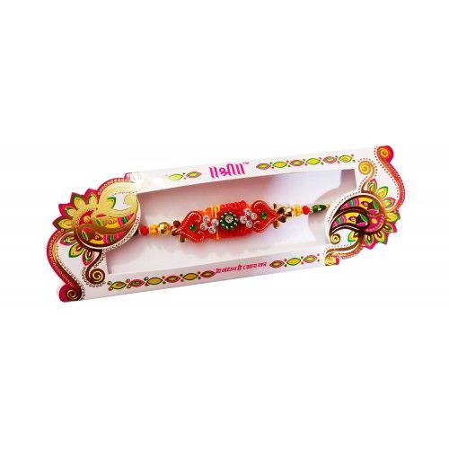 Beautiful Handmade Colorful Stone Raksha Bandhan Rakhi  https://www.craftera.in/Festival-Special  Choose this Beautiful Handmade Colorful Stone Raksha Bandhan Rakhi dazzling Rakhis that are designed & crafted intricately using sparkling stones and golden & colorful beads to decorate wrists of your brothers. Now the size of this handmade rakhi is free size.  Rakhi, Rakhi 2016