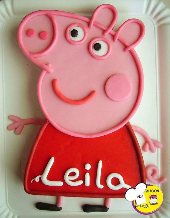 Pin By Sarah On Cakes Cupcakes And More Pig Birthday Cakes Peppa Pig Birthday Cake Peppa Pig Birthday Party