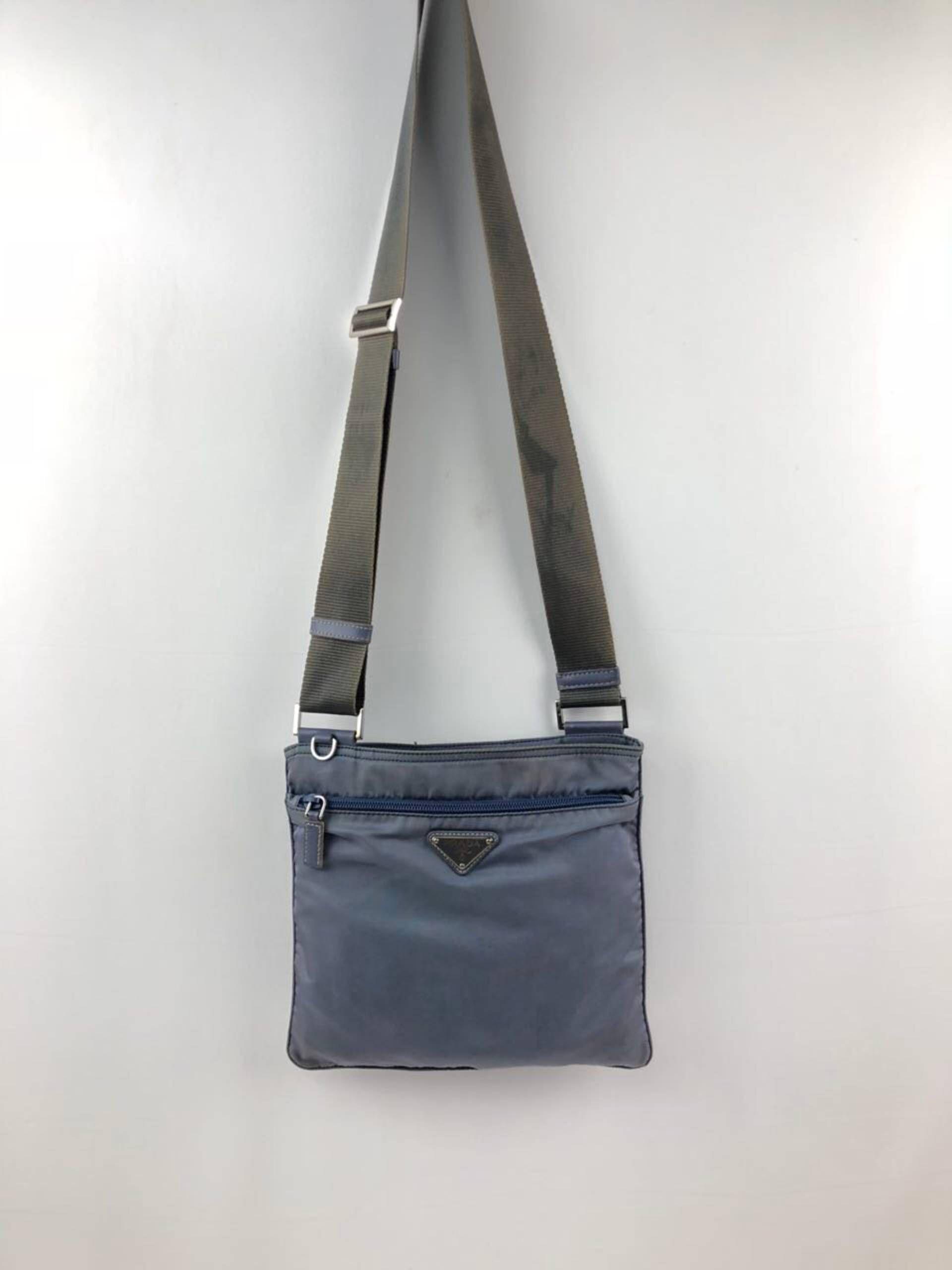 b7cde744388 Prada PRADA LIGHT BLUE NYLON CROSSBODY BAG Size ONE SIZE - 5 ...