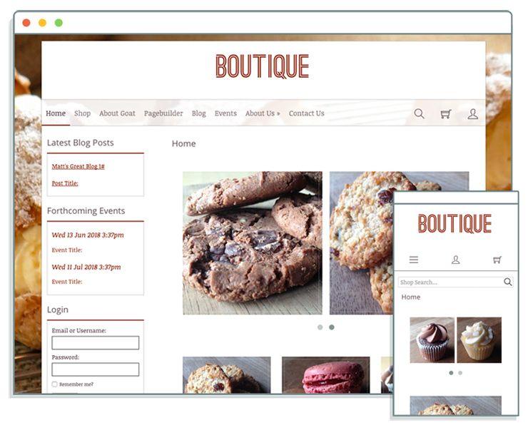 new responsive website template called velvet at create for more