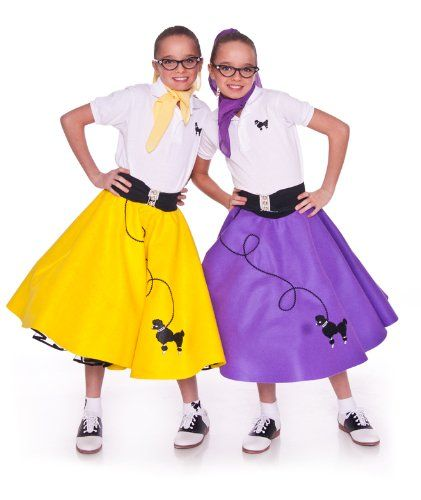 Make A Poodle Skirt With A Diy Pattern Halloween Halloween