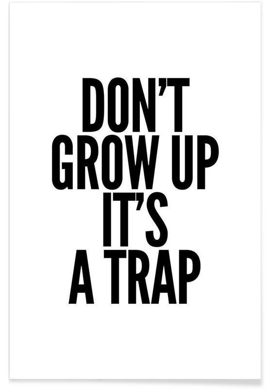Grow en affiche premium par mottos by sinan saydik juniqe