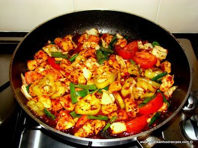 Hot and spicy stir fry chicken devil chicken sri lankan food hot and spicy stir fry chicken devil chicken sri lankan food recipes forumfinder Image collections