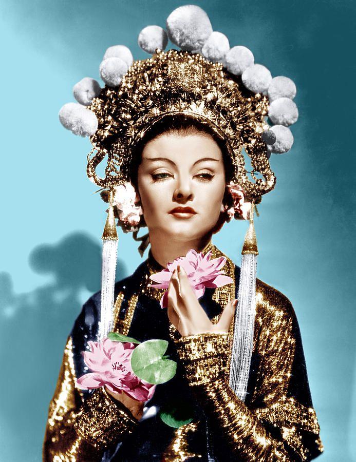 The Mask Of Fu Manchu, Myrna Loy, 1932 Photograph