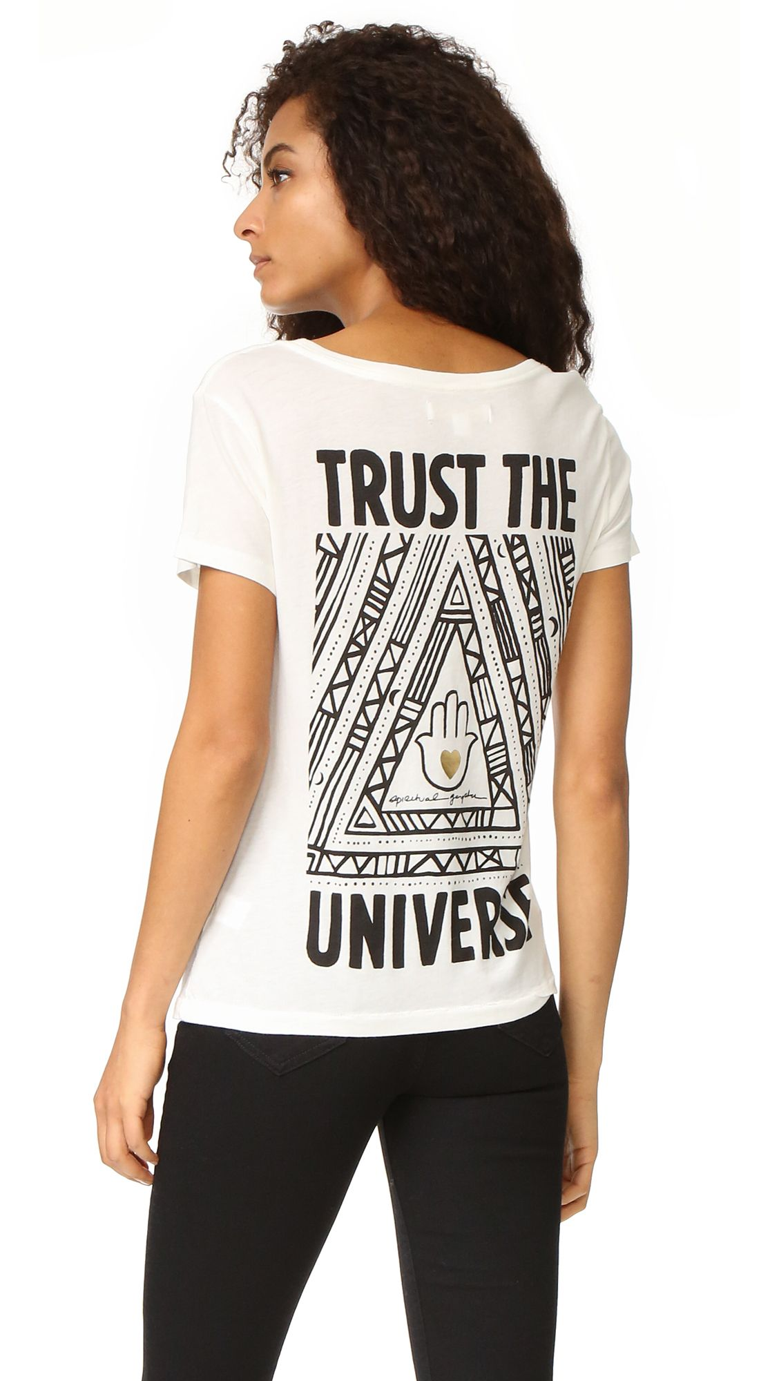 Trust the Universe Scoop Tee #giftstyle