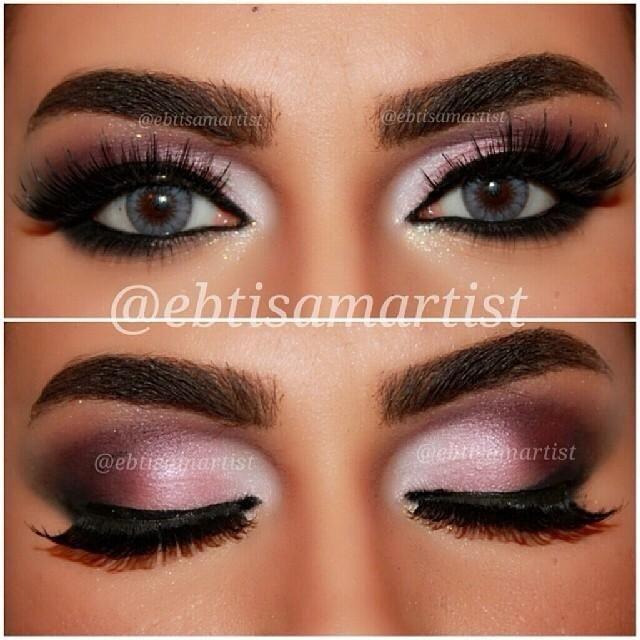 pink purple smokey eye makeup pinterest ballet