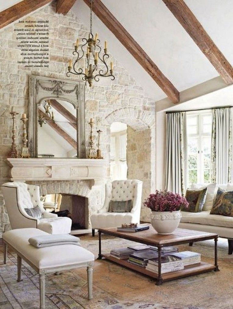 43 Beautiful French Country Living Room Table To Rock Your Next Home Country Style Living Room French Living Rooms Living Room Decor Country
