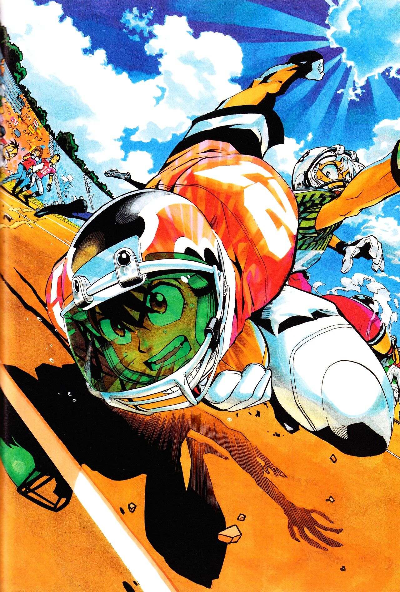 """Eyeshield 21"" Anime, Yūsuke murata, Anime art"
