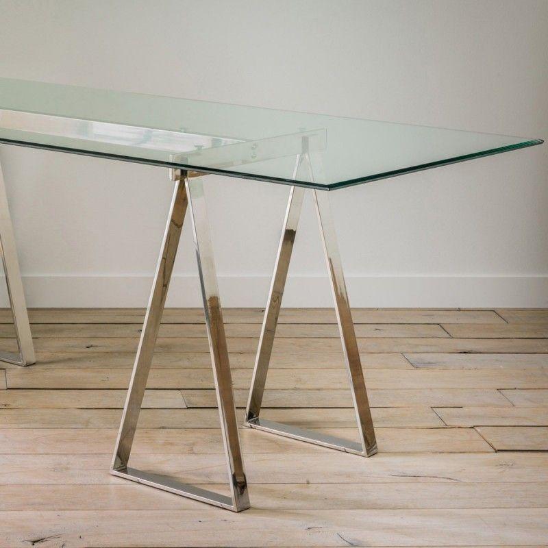 39 id es d co de tr teaux pour cr er une table ou un bureau pinterest tr teaux pour cr er. Black Bedroom Furniture Sets. Home Design Ideas