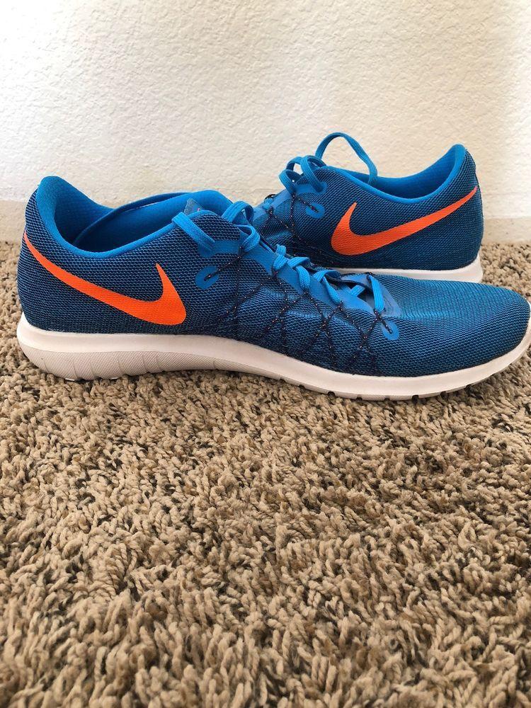 63e66c9dd291 ... wholesale nike flex fury 2 running shoes blue orange mens us size 14m  fashion 8df12 bdaaa