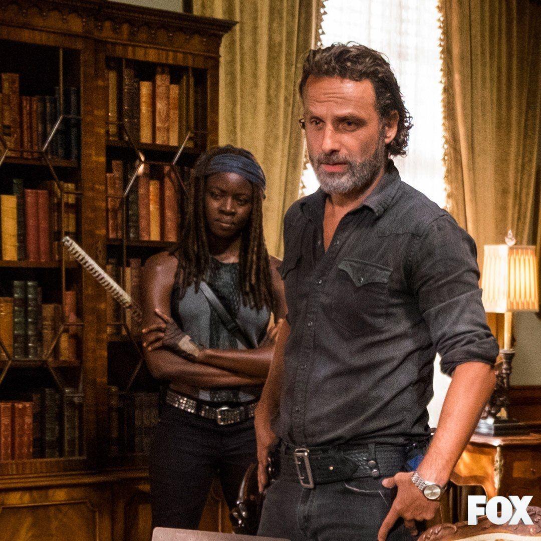 Richonne   Rick & Michonne   The Walking Dead (AMC)