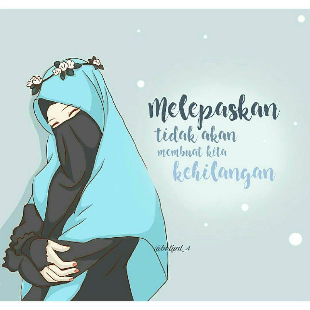 Kumpulan Animasi Muslimah Jomblo Gokil Abis