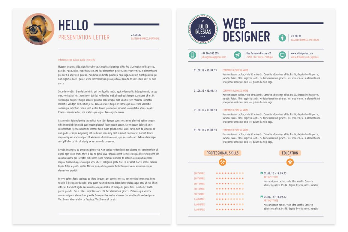 This Is It Resume  Resume Templates On Creative Market  Career