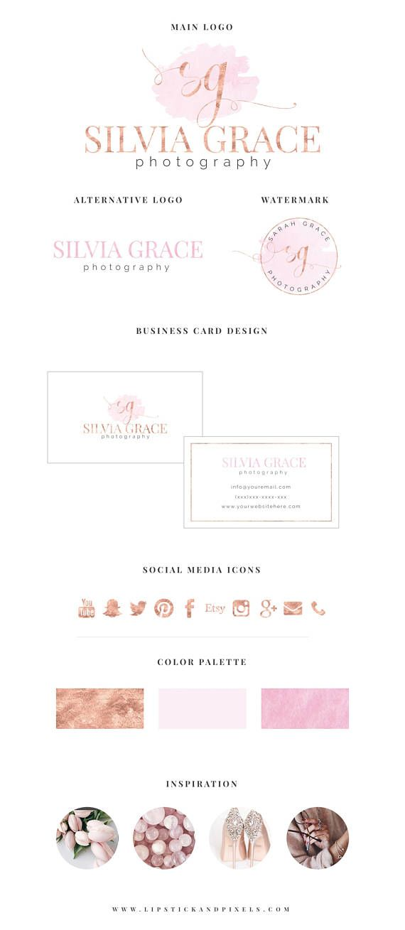 Premade logo package: main logo, alternative logo, matching ...