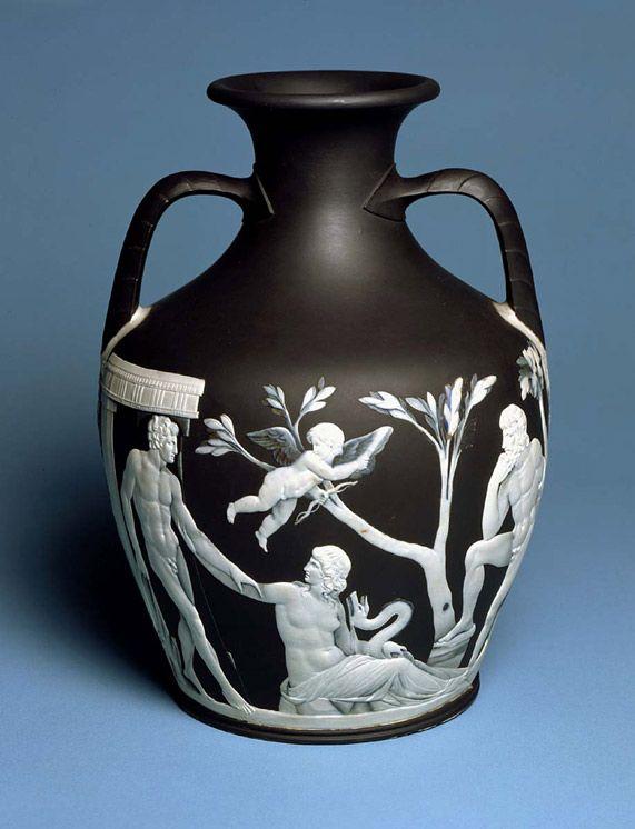 Josiah Wedgwood 1730 1795 Copy Of The Portland Vase C1789 90