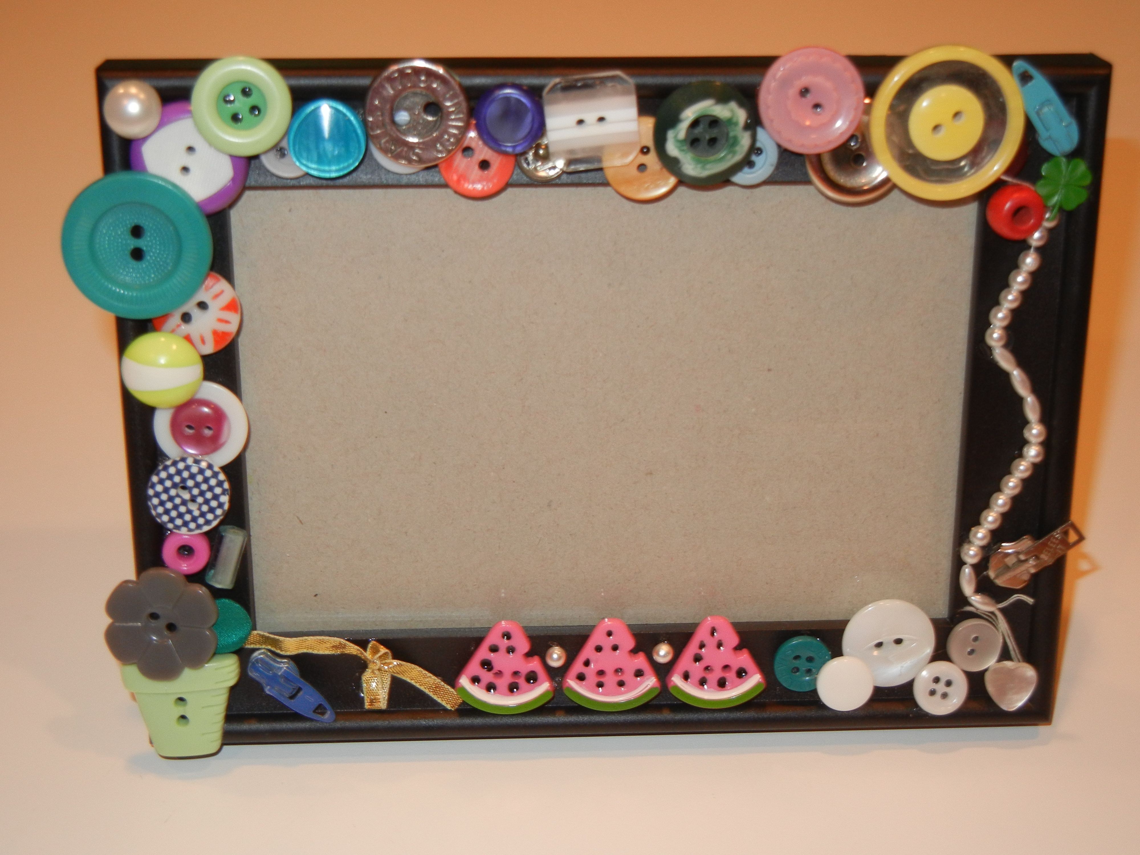 Decorating frames might be a great project for a sleepover or