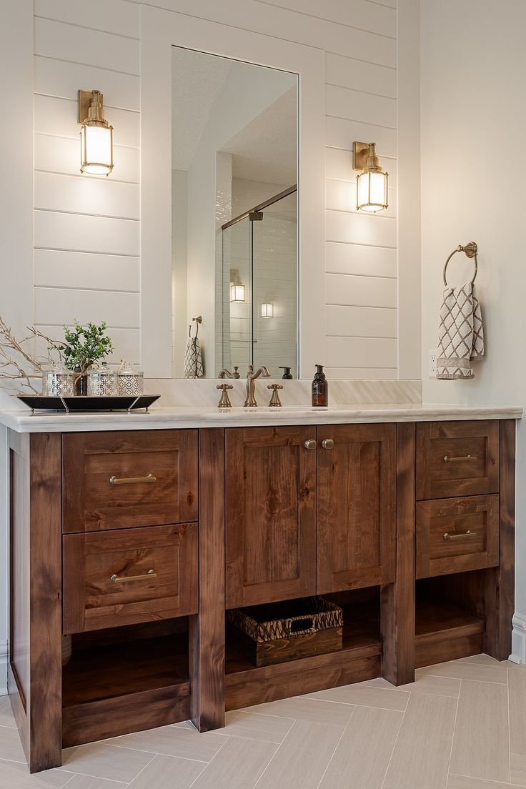 Photo of Master bathroom vanity