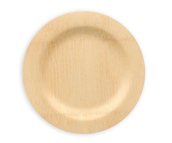 Bambu Veneerware disposable biodegradable 11  bamboo plates bulk 25/PK $33.99  sc 1 st  Pinterest & Veneerware 11in Bamboo Plate Bulk 25/PK | Green weddings Rehearsal ...