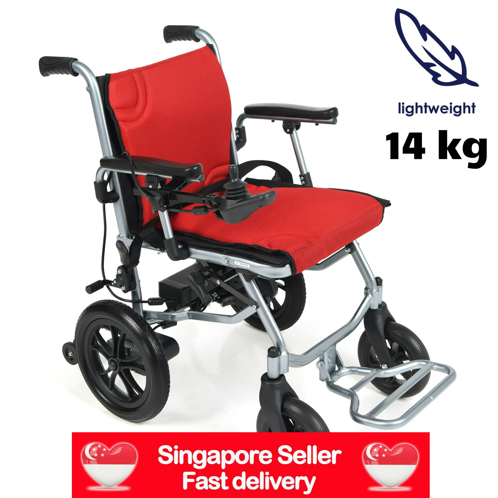 World's Lightest 14kg Electric Wheelchair, now available