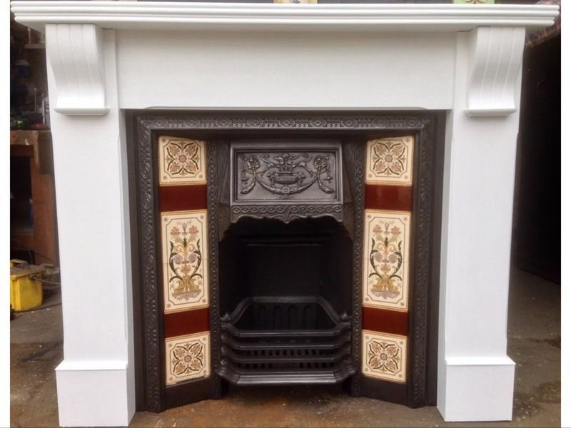 painted wooden fireplace - Google Search | Home decoration ...