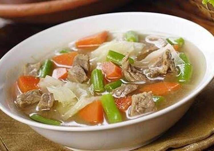 Resep Sayur Sop Ayam Oleh Shinta Bella Resep Resep Masakan Resep Makanan Sehat