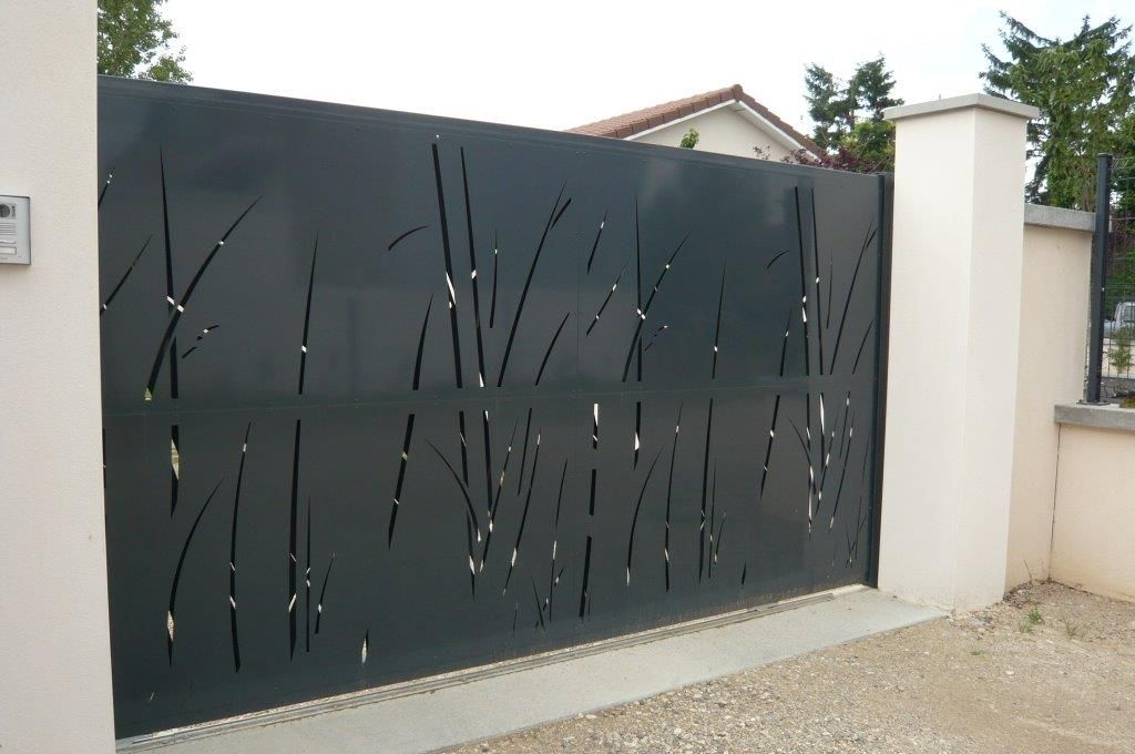 Repeindre Un Portail En Alu Beautiful Portail Aluminium With