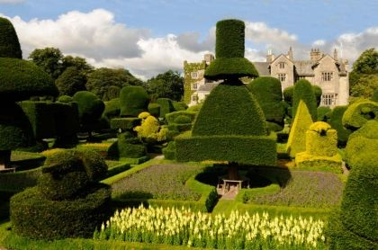 Gardens in Spring - image supplied by Levens Hall