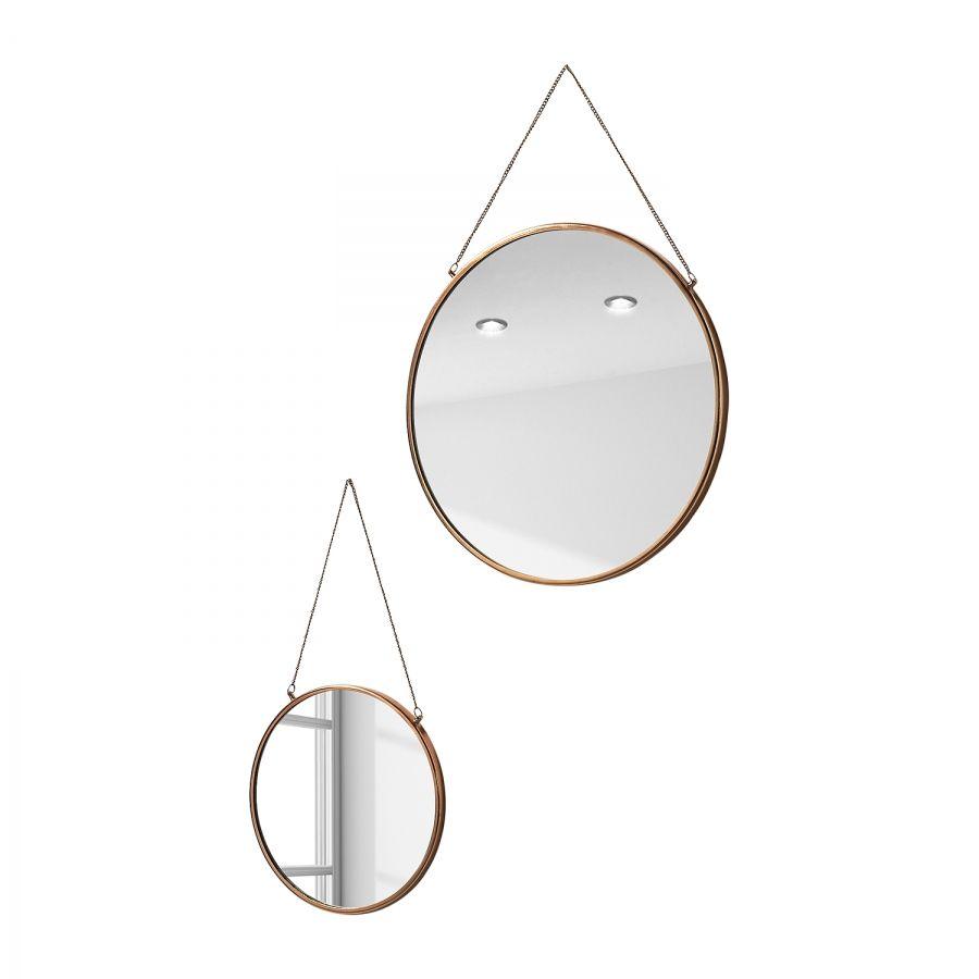 Spiegel Icon 2 Teilig Runde Badezimmerspiegel Sonnenspiegel