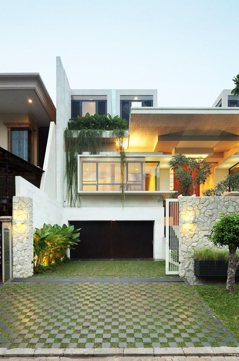 Attractive Modern Family House  Static House, Jakarta, Indonesia