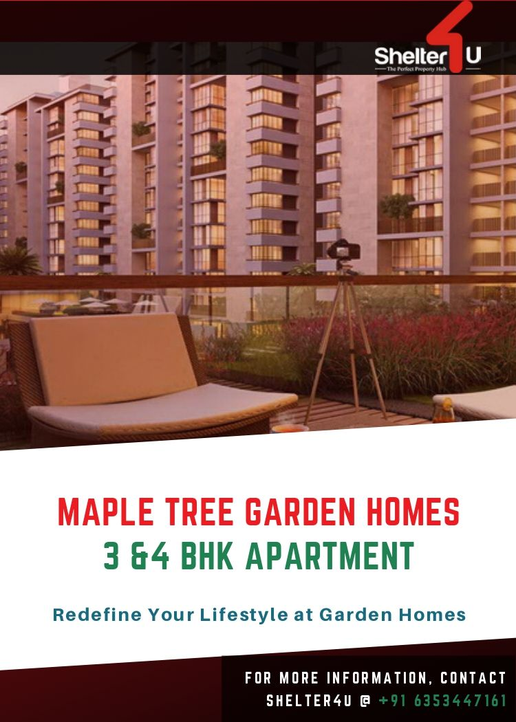 Redfine Your Lifestyle Ar Maple Tree Garden Homes Buy 3 4 Bhk