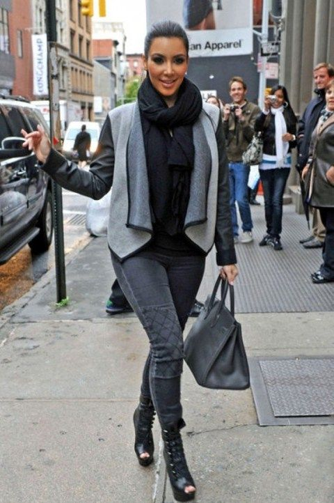 Kim Kardashian Street Style Kim Kardashian Fashion Style 2013 8 Photos Latest Fashion