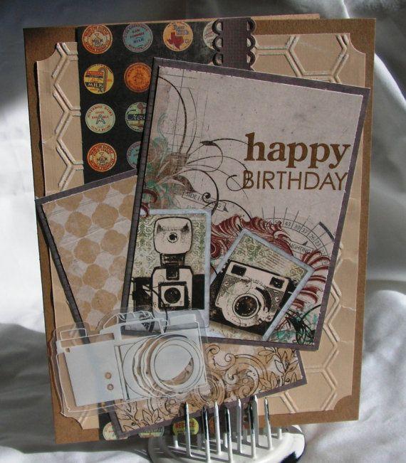 Birthday Card for Photographer – Photographer Birthday Card