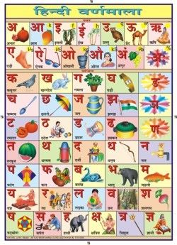 Kids coloring worksheet with hindi alphabet - Google Search   sdds ...