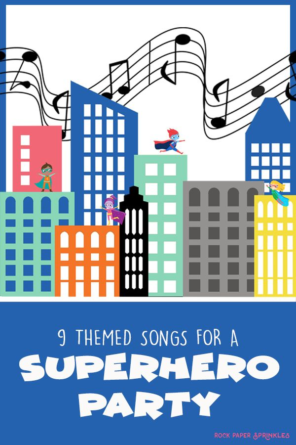 Superhero Music | 9 Superhero Songs for Kids #superherocrafts